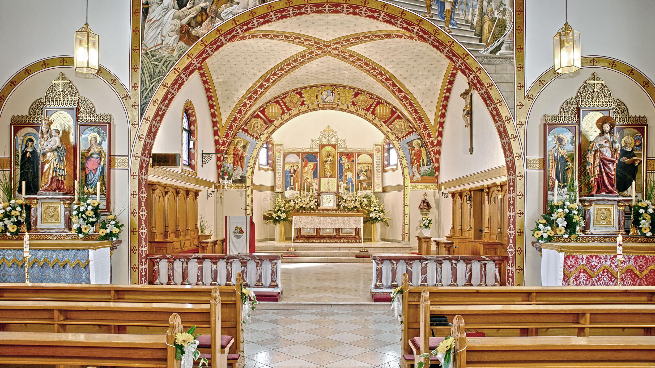 Memmingen - Kirche Sankt Joseph - Distrikt Deutschland